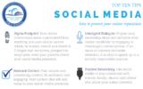 Top Ten Tips – Social Media