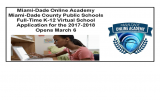 Miami-Dade Online Academy – MDCPS