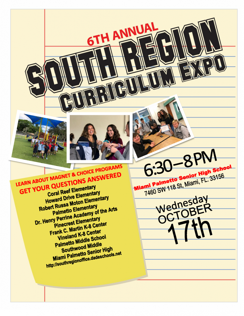 Curriculum Expo @ Miami Palmetto Senior High School
